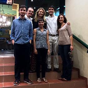 UA students in Cuba