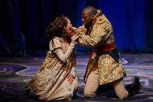 Michael Luwoye starred in Othello at UA in 2013.