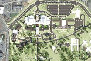 A rendering of what Bryce Campus will look like after the center is built.