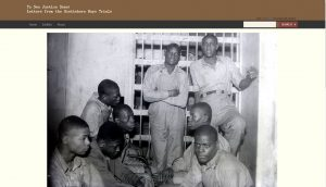 """'To See Justice Done': Letters from the Scottsboro Trials,"" is a new online database, showcasing primary resources from the Scottsboro Trials."