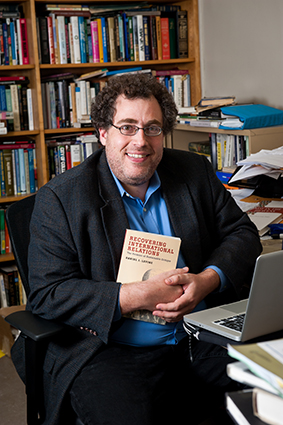 "Daniel Levine with his new book ""Recovering International Relations"""