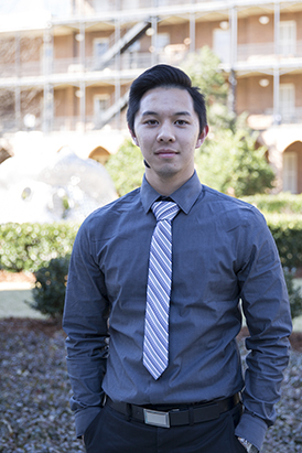 Scholarship recipient David Dai