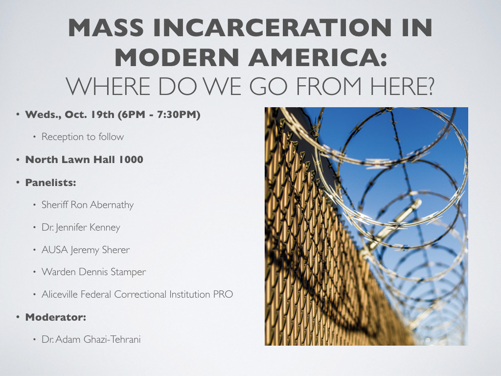 mass incarceration in modern america poster
