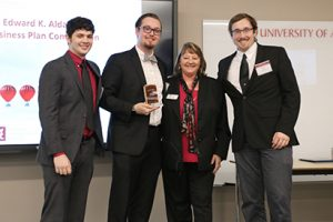 High Five Studios were winners of the grand prize of $50,000 in the 2018 Edward K. Aldag Jr. Business Plan Competition.
