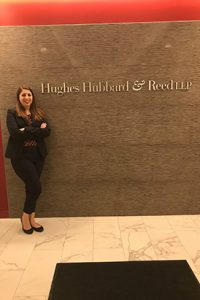 Olivia Bensinger currently practices at Hughes, Hubbard and Reed, one of the most prestigious and respected firms in the country.