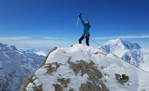 Over the past few years, Beyer has climbed several mountains, including Denali in Alaska and Cayambe in Ecuador.