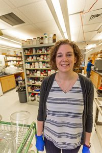 Erica Schwalm's work in the pharmaceutical industry has already been recognized internationally in Science.