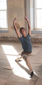 Andy Zavadsky dancing.