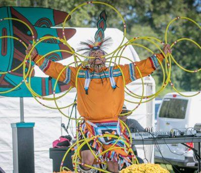 Native American performer