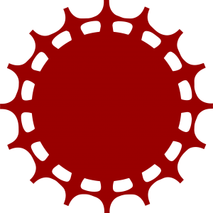 round image resembling a medal