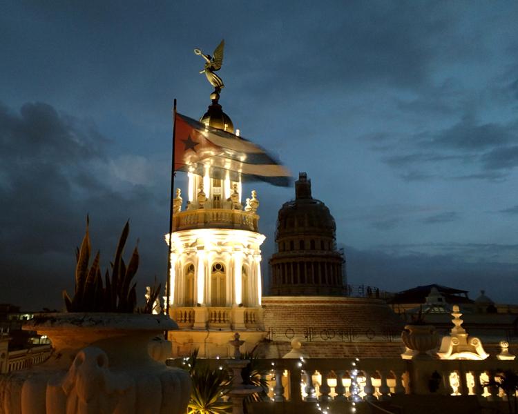 the historic Grand Theatre in Havana, Cuba