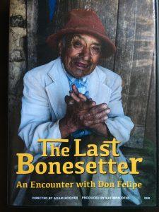 Don Felipe on the cover of The Last Bonesetter.