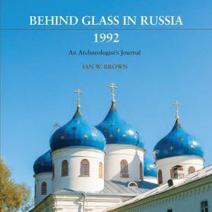 book cover for Behind Glass in Russia, 1992 by Ian Brown
