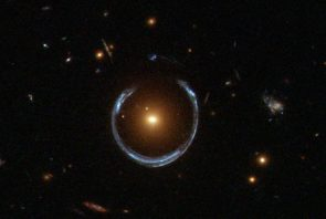 image from NASA's Hubble Space Telescope of the Horseshoe Einstein Ring