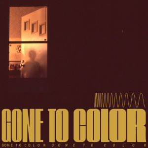 Brown and gold cover art for Gone to Color